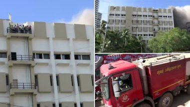 मुंबई MTNL भवन आग: अब तक 60 लोगों को बचाया गया, अभी भी बचाव कार्य जारी