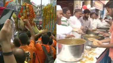 दिल्ली: हौज काजी मंदिर में प्राण प्रतिष्ठा के साथ हुई मूर्तियों की स्थापना, मुस्लिम समुदाय ने परोसा खाना