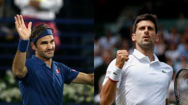 Wimbledon 2019: फाइनल में होगी नोवाक जोकोविक और रोजर फेडरर की भिड़ंत