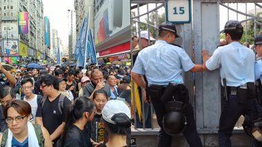 हांगकांग: सशस्त्र नकाबपोशों की भीड़ ने रेलवे स्टेशन पर किया हमला, इस घटना में 36 लोग हुए घायल