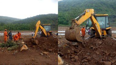 महाराष्ट्र: तिवारे बांध दुर्घटना में मरने वालों की संख्या हुई 18, पांच लोग अब भी लापता, राहत कार्य जारी