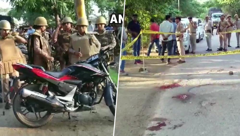 उत्तर प्रदेश के संभल में दो सिपाहियों की हत्या कर कैदी वैन से फरार हुए 3 बदमाश