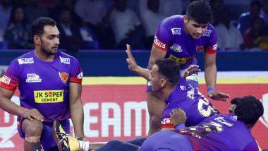 Pro Kabaddi League 2019: दबंग दिल्ली ने जयपुर पिंक पैंथर्स को 35-24 से हराया