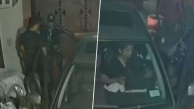 बेखौफ बदमाशों ने बंदूक की नोक पर दिल्ली के परिवार को लूटा, देखें वीडियो
