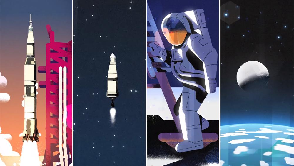 अपोलो 11 अंतरिक्ष मिशन: चांद पर कदम रखने के 50 साल पूरे, वीडियो में देखें नील आर्मस्ट्रॉन्ग का यह अद्भुद सफर