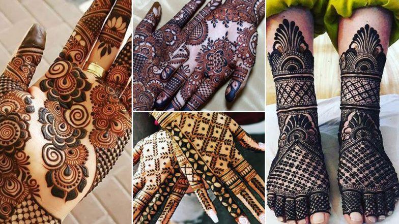 Hariyali Teej 2019 Mehandi Designs: हरियाली तीज पर हाथों में लगाएं अपने पिया के नाम की मेहंदी, ट्राई करें ये आकर्षक डिजाइन