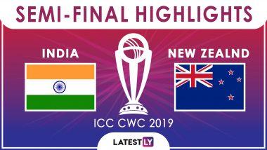 IND vs NZ, CWC Semi Final 2019: न्यूजीलैंड ने भारत को 18 रनों से हराया