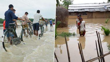बिहार में बाढ़ का कहर जारी, अब तक 18 लाख से ज्यादा प्रभावित, राहत बचाव युद्ध स्तर पर