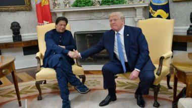 अमेरिकी राष्ट्रपति डोनाल्ड ट्रम्प और पाकिस्तान के पीएम इमरान खान ने अफगानिस्तान में शांति स्थापित करने के तरीकों पर की चर्चा