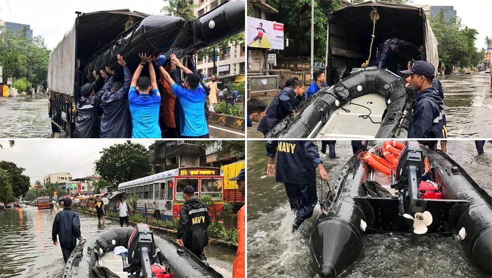 मुंबई से सटे ठाणे में भी भारी बारिश, बिजली की चपेट में आने से एक की मौत