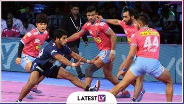 Pro Kabaddi League 2019: जयपुर पिंक पैंथर्स ने पटना पाइरेट्स को 34-21 से हराया