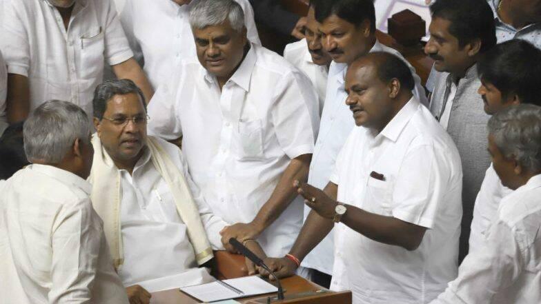 कर्नाटक में सियासी संकट: बागियों को अयोग्य ठहराने पर विचार कर रही कांग्रेस, इस्तीफा देने वाले विधायकों की बढ़ सकती है मुश्किल