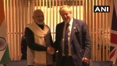 पीएम मोदी ने ब्रिटेन के नए प्रधानमंत्री बोरिस जॉनसन को दी बधाई, दोनों देशों की साझेदारी को लेकर कही ये बात