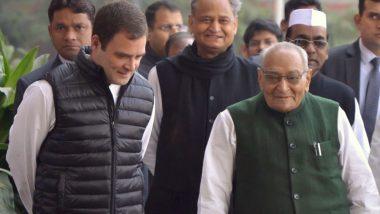राहुल गांधी का इस्तीफा, मोतीलाल वोरा हो सकते हैं कांग्रेस के अंतरिम अध्यक्ष