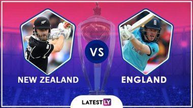 ENG vs NZ, ICC CWC 2019 Final: न्यूजीलैंड ने टॉस जीतकर लिया पहले बल्लेबाजी का फैसला
