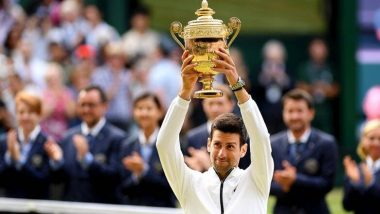 Wimbledon 2019: रोजर फेडरर को मात देते हुए नोवाक जोकोविच ने जीता 16वां ग्रैंडस्लैम खिताब
