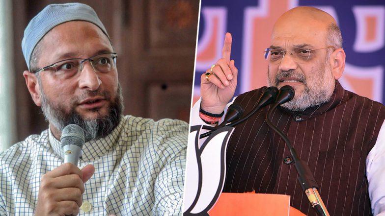 असदुद्दीन ओवैसी का अमित शाह पर पलटवार, कहा- वे सिर्फ गृहमंत्री हैं, कोई भगवान नहीं