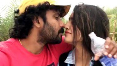 दोस्त को किस करने चली प्रिया प्रकाश वारियर हुई कैमरे में कैद, वायरल हुआ वीडियो