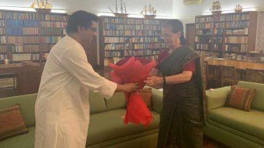 MNS प्रमुख राज ठाकरे ने सोनिया गांधी से की मुलाकात, महाराष्ट्र चुनाव को लेकर हुई चर्चा: रिपोर्ट