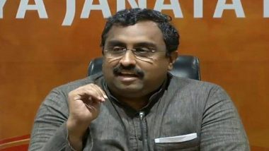 आंध्र प्रदेश: YSR कांग्रेस सरकार पर राम माधव का हमला, बोले- राज्य की हालत 'आसमान से टपका खजूर में अटका' जैसी