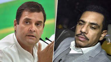 राहुल गांधी की तारीफ में रॉबर्ट वाड्रा ने फेसबुक पर किया पोस्ट, कहा- 65 प्रतिशत युवाओं को आप पर भरोसा