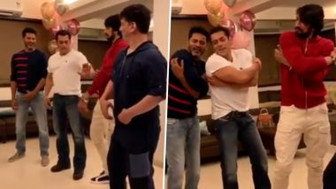 प्रभुदेवा के फेमस गाने 'उर्वशी' पर सलमान खान ने किया दबंग डांस, वीडियो आया सामने