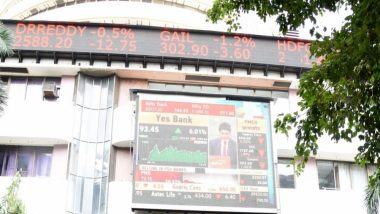 शेयर बाजार के संवेदी सूचकांकों में उतार-चढ़ाव जारी, सेंसेक्स 9.25 अंकों से लुढ़का