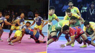 Pro Kabaddi League 2019: रोमांचक मुकाबले में पटना पाइरेट्स ने 1 अंक से हासिल की जीत