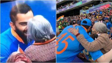 IND vs BAN, CWC 2019: जीत के बाद कोहली ने ट्वीट कर प्रशंसकों और बुजुर्ग महिला चारुलता पटेल को प्यार और समर्थन देने के लिए धन्यवाद दिया