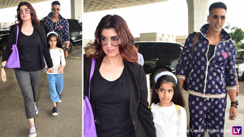 फिल्मों से ब्रेक लेकर अक्षय कुमार परिवार के साथ निकले वेकेशन मनाने, देखें HD photos