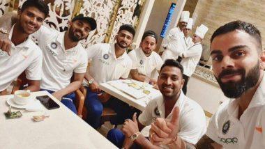 वेस्टइंडीज दौरे से पहले विराट कोहली ने ट्विटर पर शेयर की खिलाड़ियों के साथ तस्वीर