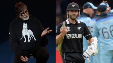 वर्ल्ड कप फाइनल में न्यूजीलैंड की हार के बाद अमिताभ बच्चन ने उड़ाई ICC नियम की धज्जियां, ट्वीट कर साधा निशाना