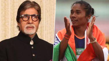 हिमा दास ने एक महीने में जीता 5वां गोल्ड मैडल तो अमिताभ बच्चन ने कही ये खास बात