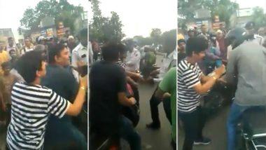 दिल्ली में ट्रैफिक पुलिस के ASI से महिला और उसके साथी ने की बदसलूकी, VIDEO हुआ वायरल