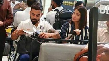IND vs WI: वेस्टइंडीज दौरे पर विराट कोहली को चीयर करते नजर आ सकती हैं अनुष्का शर्मा, मियामी एअरपोर्ट पर साथ हुई स्पॉट