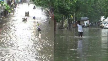 मुंबई में भारी बारिश: 11 उड़ानें रद्द, नौका की मार्गों में किया गया बदला