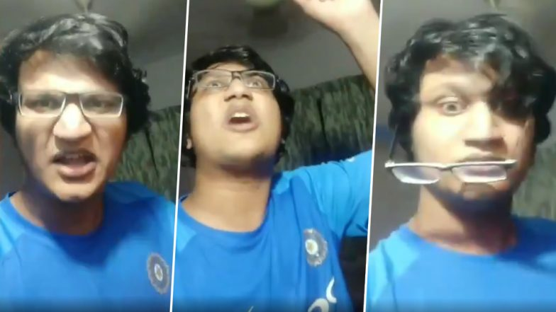 भारत के न्यूजीलैंड से मैच हारने के बाद इस लड़के ने खोया आपा, खुद को मारे चाटे, देखें वायरल वीडियो