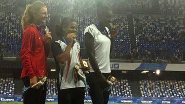 Napoli World University Games: एथलीट दुती चंद ने जीता स्वर्ण पदक, राष्ट्रपति कोविंद ने दी बधाई
