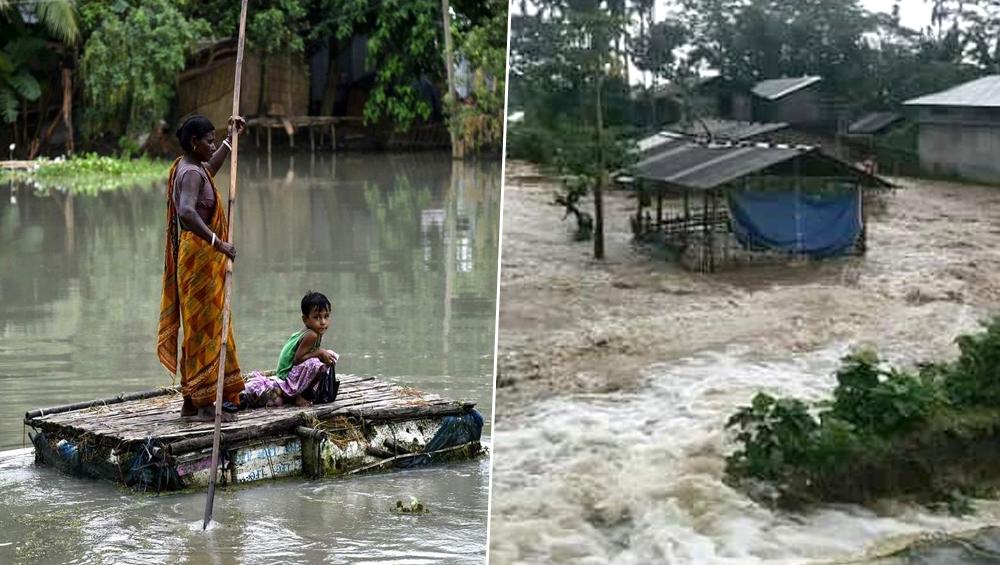 बिहार और असम में बाढ़ का कहर जारी, मरने वालों की संख्या 209 हुई