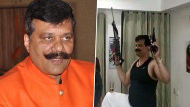 बंदूक लहराते हुए डांस करने वाले विधायक प्रणव सिंह चैंपियन को बीजेपी ने 6 साल के लिए पार्टी से निकाला