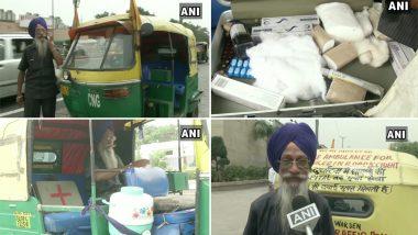 दिल्ली: दुनिया में अब भी मानवता है जिंदा, 76 वर्षीय ये शख्स चलाते हैं फ्री ऑटो एम्बुलेंस
