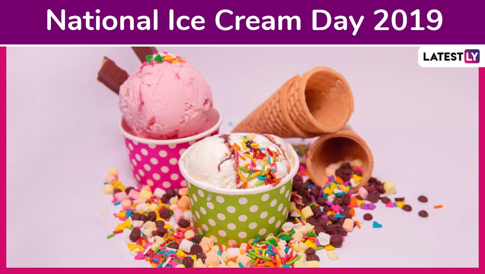 National Ice Cream Day 2019: आज है नैशनल आइसक्रीम डे, जानिए कब और कैसे हुई इसकी शुरुआत