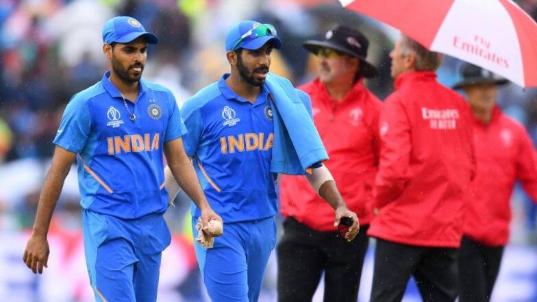India vs New Zealand, CWC Semi Final 2019: बारिश के कारण आज के दिन का खेल रद्द, अब रिजर्व डे में पूरा होगा सेमीफाइनल