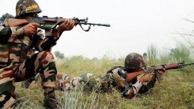 पाकिस्तान ने नियंत्रण रेखा पर गोलीबारी की, मोर्टार दागे