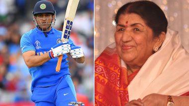 वर्ल्ड कप सेमीफाइनल में भारत की हार के बाद लता मंगेशकर ने धोनी से की ये भावुक अपील