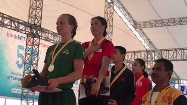 मैरी कॉम ने प्रेसीडेंट्स कप बॉक्सिंग में जीता गोल्ड मेडल, ऑस्ट्रेलिया की एप्रिल फ्रैंक्स को हराया