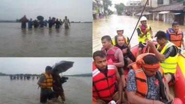 नेपाल में मूसलाधार बारिश के कारण बाढ़ और भूस्खलन, मरने वालों की संख्या बढ़कर हुई 43, 2 हजार लोगों को बचाया गया