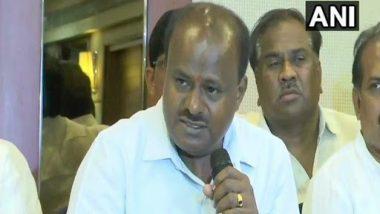 कर्नाटक: एचडी कुमारस्वामी मुख्यमंत्री पद से दे सकते हैं इस्तीफा, बेंगलुरु में अगले 48 घंटों के लिए धारा 144 लागू