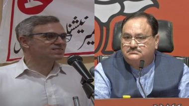 उमर अब्दुल्ला के बयान पर जेपी नड्डा का पलटवार, कहा- इन दलों को देश से ज्यादा राजनीति की चिंता