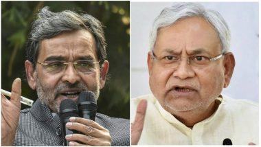 बिहार: 'नीतीश हटाओ-भविष्य बचाओ' पदयात्रा पर निकले उपेंद्र कुशवाहा, CM के इस्तीफे की कर रहे मांग